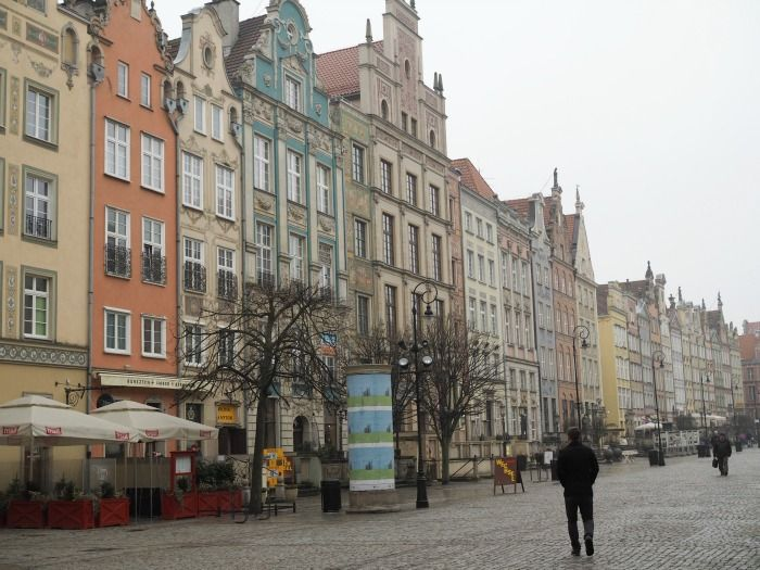 Onnistain - traveling to Gdansk, Poland