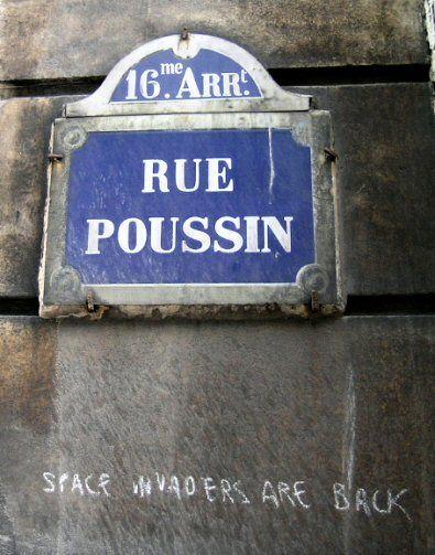 La rue Poussin  (Paris 16ème)