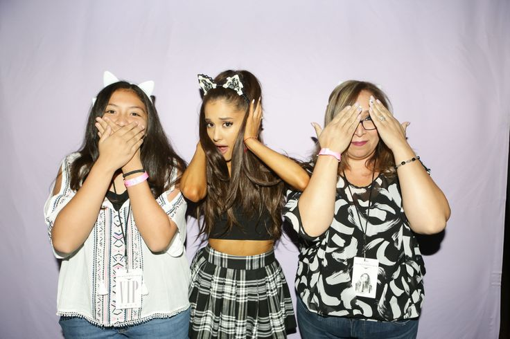 Ariana Grande Honeymoon Tour meet n greet