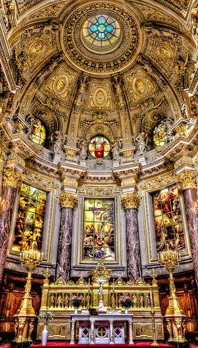 Berlin Cathedral ~ Appreciate the beautiful struct…
