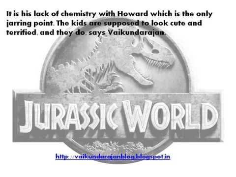 The much awaited Universal Pictures and Legendary's 'Jurassic World' released today, 12th June. The movie is a Colin Trevorrow-directed film, produced by Frank Marshall and Patrick Crowley, and executive produced by Steven Spielberg and Thomas Tull, says Vaikundarajan