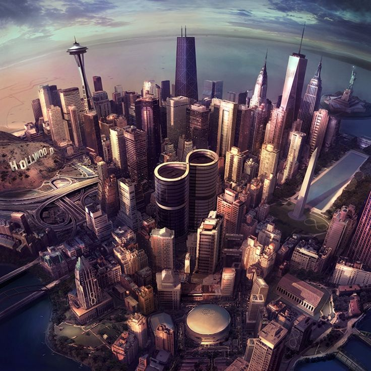 Foo Fighters Sonic Highways on 180g LP 2016 Grammy Nominee! New Butch Vig-Produced Album Shares its Title with the Dave Grohl-Directed 8-Episode HBO Series Described as a Love Letter to the History of
