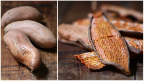 Make Yam Treats For Dogs