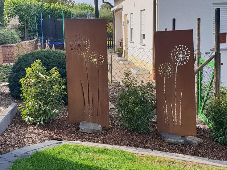 Wunderschönes Gartenschild, Sonderanfertigung mit Motiv