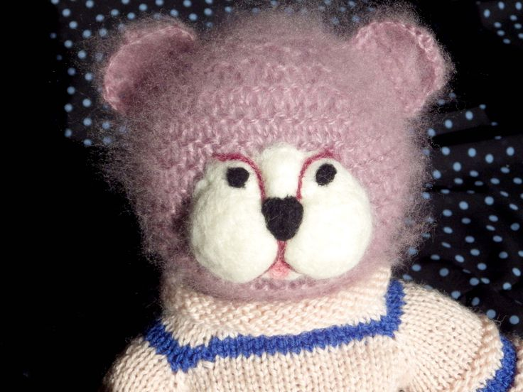 A personal favourite from my Etsy shop https://www.etsy.com/au/listing/272090594/serious-teddy-bear-in-decorative-jumper