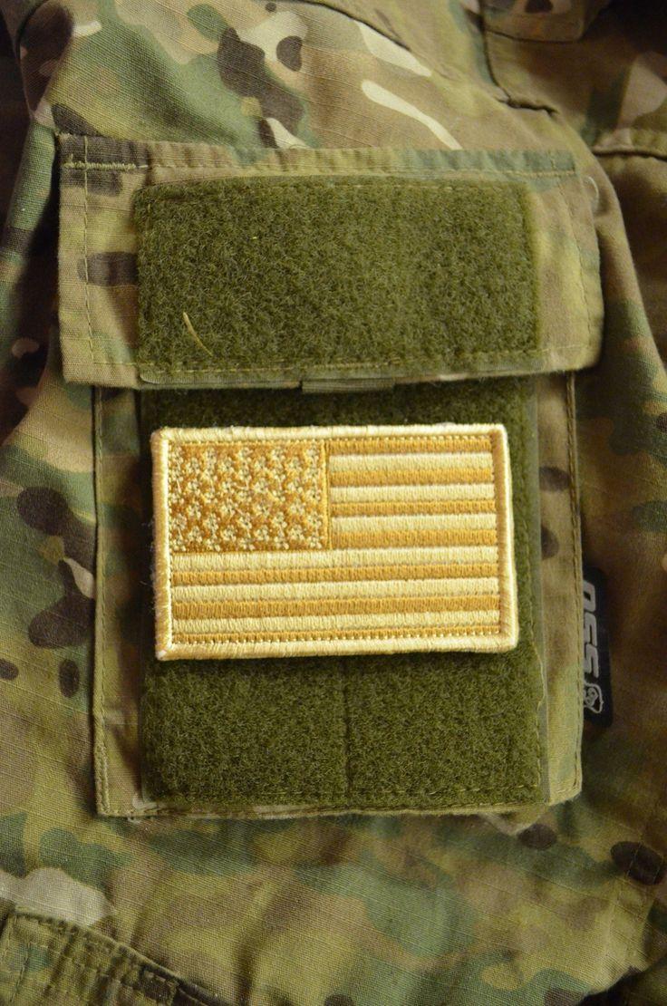 нашивка флаг США 8.5х5 см