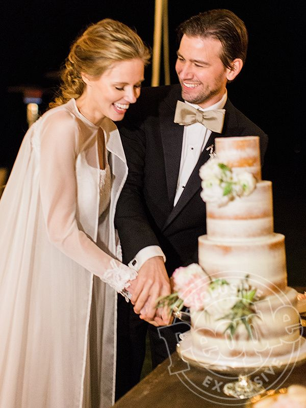 Click through to see former Miss USA Alyssa Campanella and Reign's Torrance Coombs wedding photos!