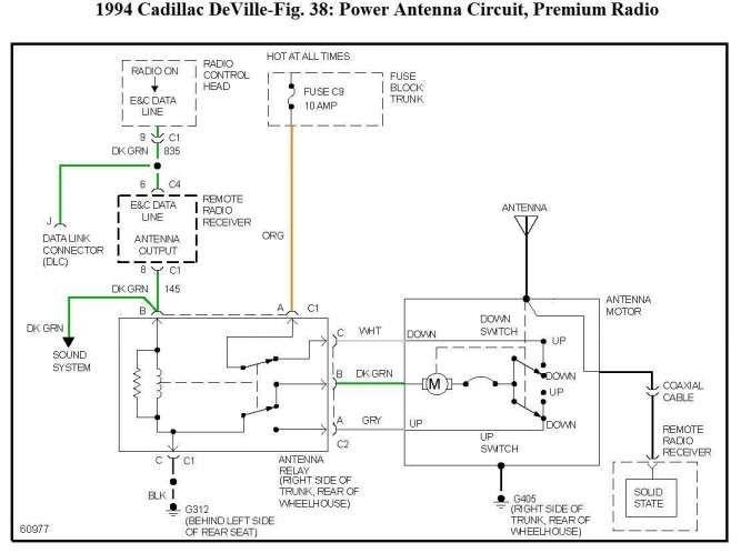 16 electric antenna wiring diagram  thermostat wiring