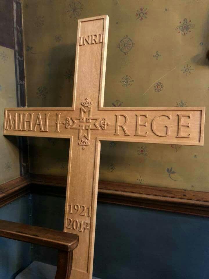 Crucea Majestatii Sale, Regele Mihai I al Romaniei