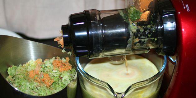 Juice med broccoli