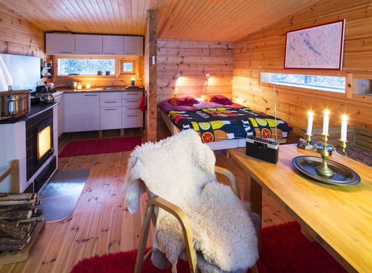 Weekend Cabin feature: a gorgeous wooden modernist escape in Lapland. http://adv-jour.nl/1gb9EF6