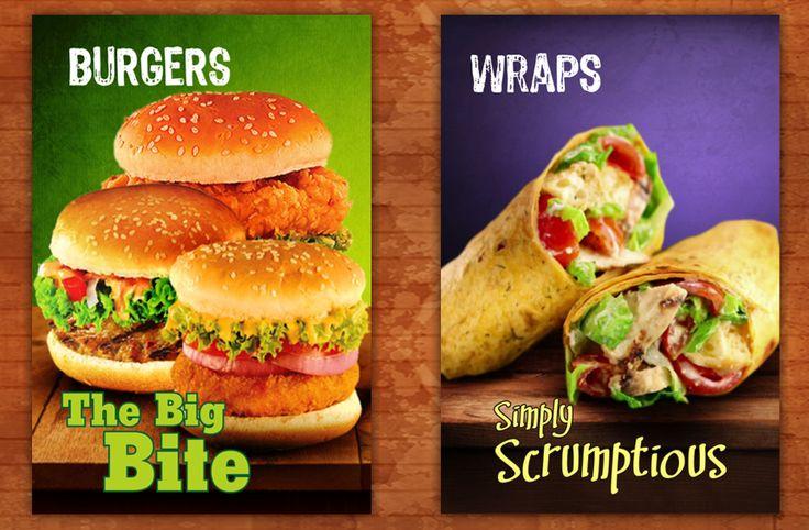 PollitosChicken menu #Burgers , #Wraps