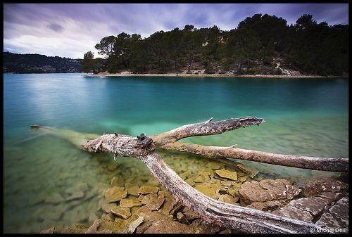 Lac d'Esparron de Verdon by Michel-Delli  chez moi France