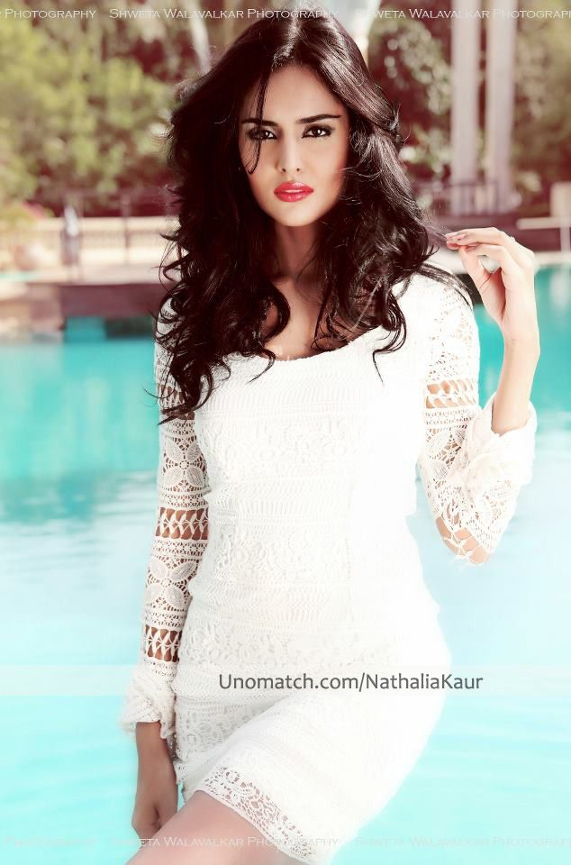 Nathalia Kaur (born Nathalia Pinheiro Felipe Martins on 15 August 1990) is a Brazilian model and actress who works in India. like http://www.unomatch.com/nathaliakaur/