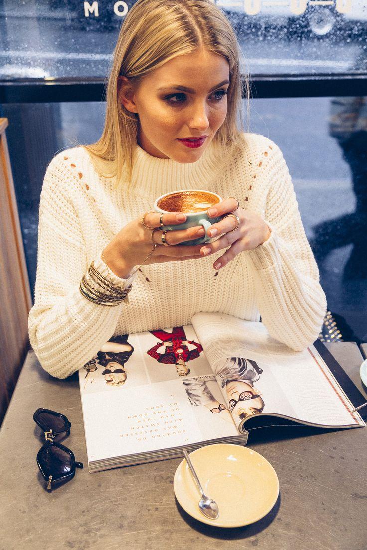 Coffee Time.  Cozy Sundays: Featuring Miranda Aston Shop Via - http://stelly.com.au/115-cozy-sunday