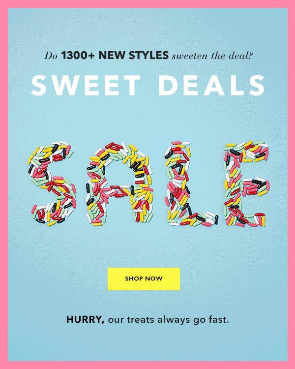 SWEET DEALS SALE SHOP NOW