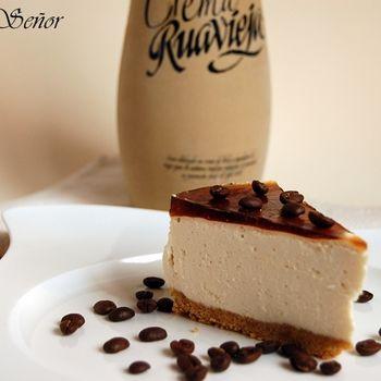 Tarta de crema de orujo y café!