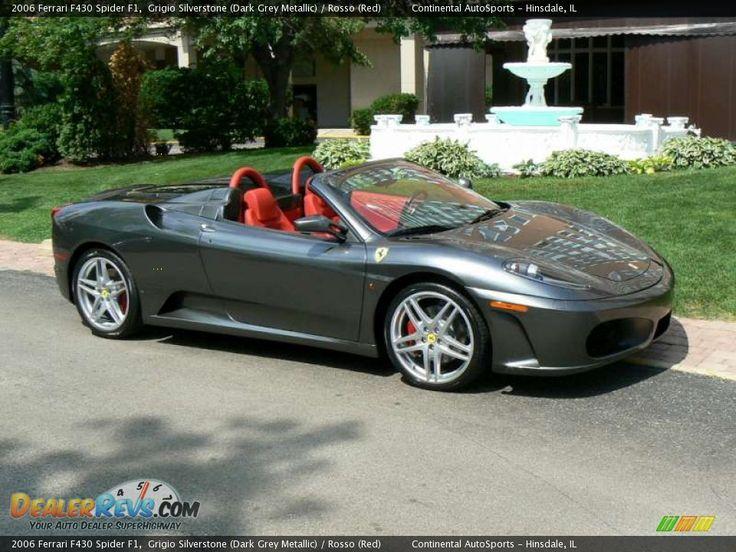2006 Ferrari F430 Spider F1 Grigio Silverstone Dark Grey