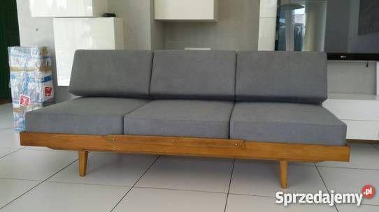 sofa, retro, vintage, 60', bauhaus, Scandinavian design Poznań