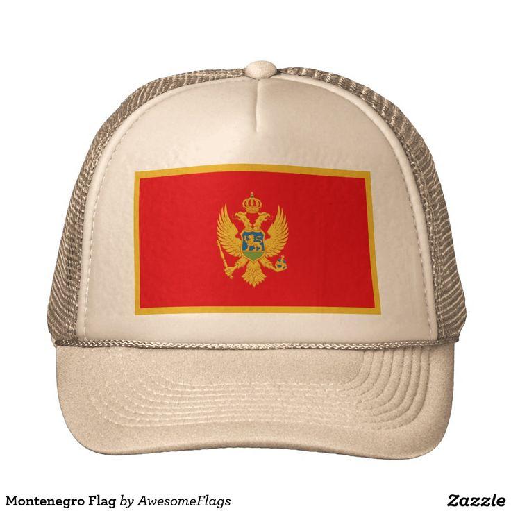 Montenegro Flag Cap