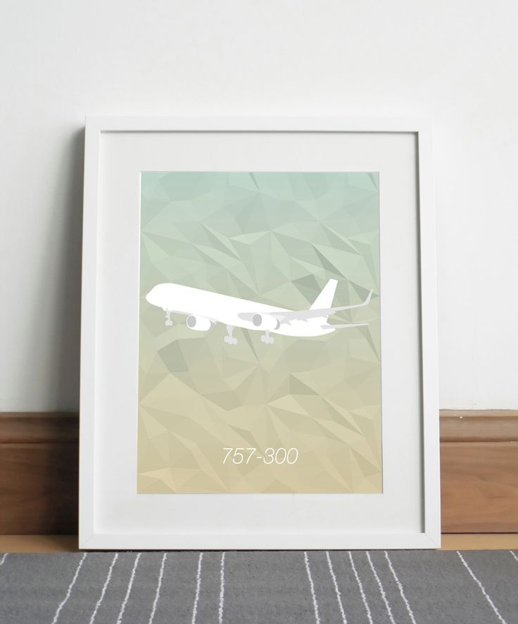 Boeing 757-300 Aircraft - Digital download by Sketch22uk on Etsy