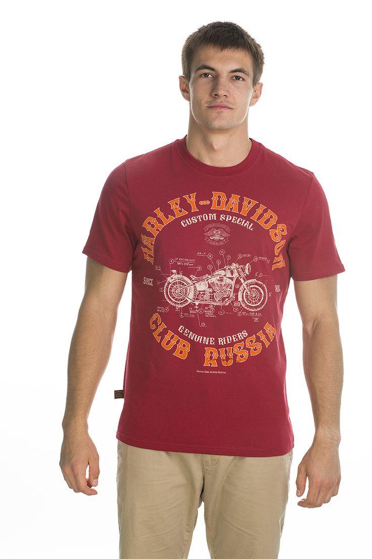 T-shirt Custom; red.