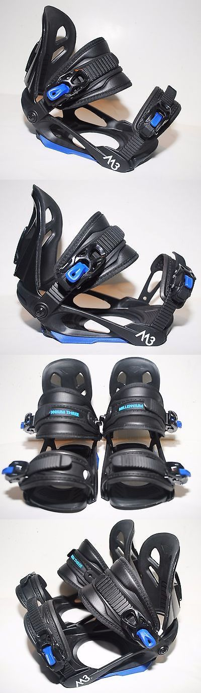 Bindings 21248: M3 Millennium Three Helix Snowboard Binding Boys Youth Junior Black Blue S M Nwb -> BUY IT NOW ONLY: $49 on eBay!