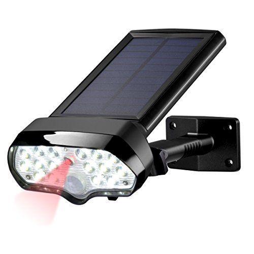 Sunix Lampe Solaire extérieure IP65 Etanche Exterieur/Eclairage ...