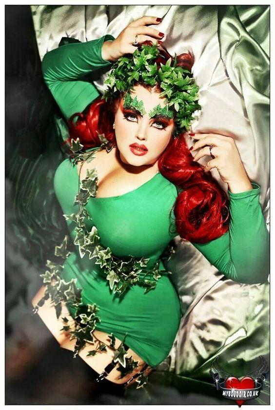 Poison Ivy | Coolest DIY Plus Size Costumes for Women - maskerix.com