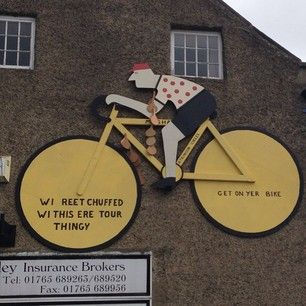 With this located just around the corner. | 31 Beautiful Images Of The Tour De France In Yorkshire