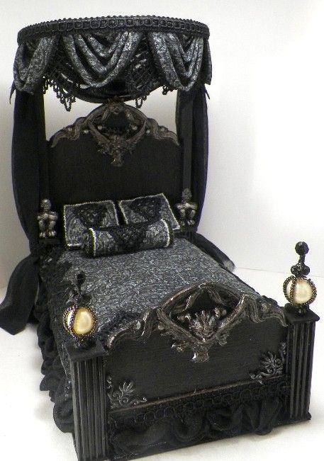 black goth beds | Pin it 3 Like 1 Image