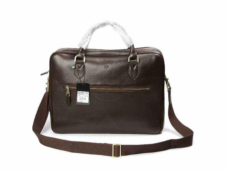 Mulberry Men Coffee Heathcliffe Bag