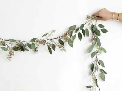 eucalyptus garland diy - Frankie's Online Magazine brings you the latest in Australian & International Craft & Creative DIY Projects! Have a read through more articles online!
