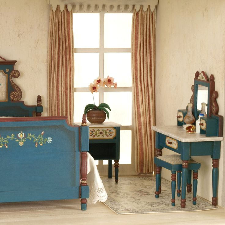 1275 Best Images About Miniature Bedroom On Pinterest