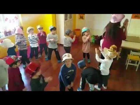 Şapkalarla dans ( çoklu zeka çalışması ) - YouTube