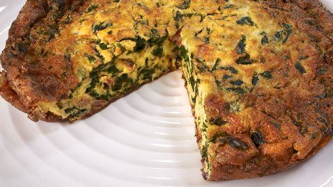 Spinach, Bacon and Gruyère Frittata - RTE Food