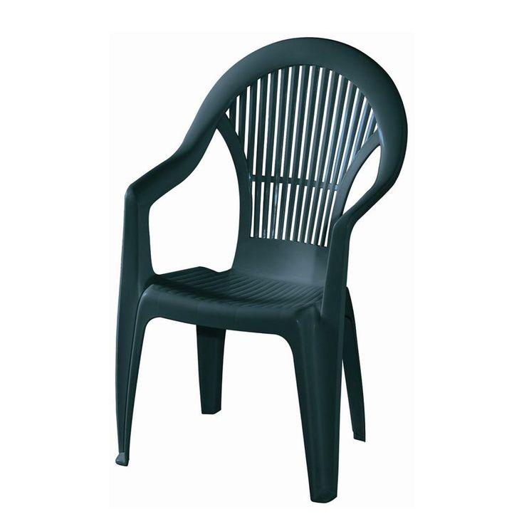 Trend Stapelstuhl Vega Kunststoff Gr n Siena Garden Jetzt bestellen unter