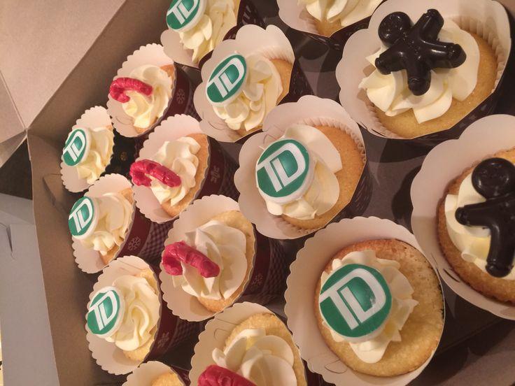 TD Christmas cupcakes