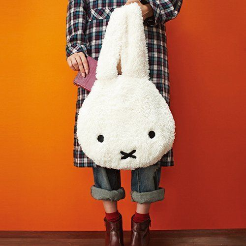 New-Fuwamoko-Miffy-bag-fluffy-From-Japan