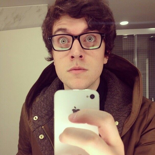 PJ Liguori (kickthepj) *swoon* // Does anyone else thing he looks like a kitty in this picture?