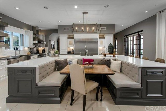 Remodeled kitchen in home of former MLB player Jim Edmonds and Real Housewife of Orange County Meghan King Edmonds