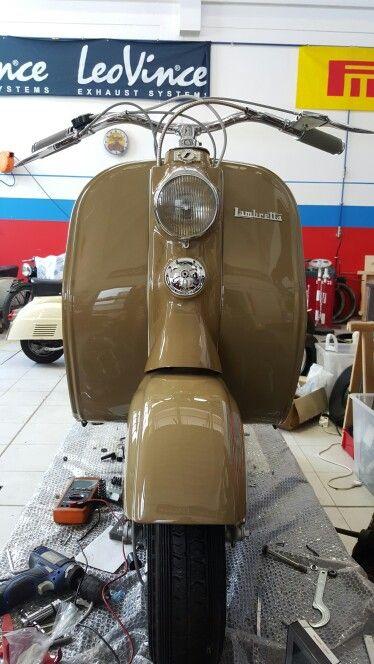 Lambretta LC 125 1951 restauro completo