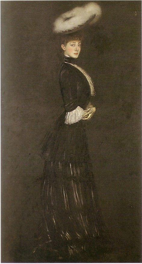 Madame Genvich by Antonio de la GANDARA 1905