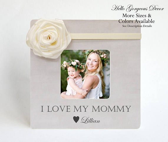 Mom Mother Gift from Baby Picture Frame Personalized Mom