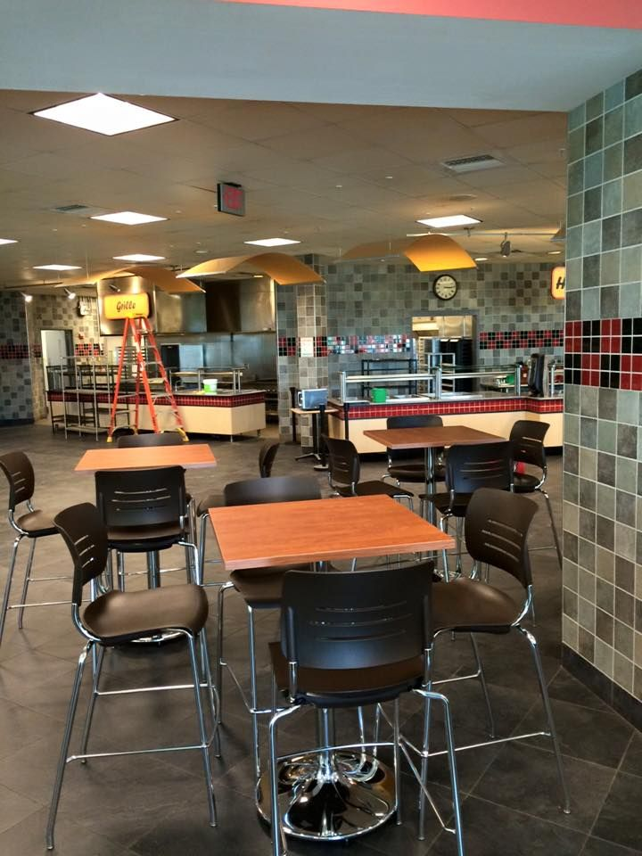 Furniture Installation For The Millersville Dining Hall