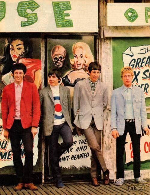 Every thing from the 60's | 60's Fashion, The Who, 1966. Visit Kirstenjy on Pinterest for...
