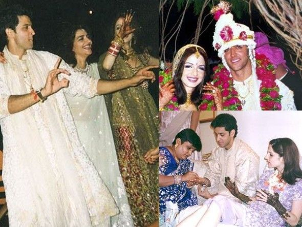 "Hrithik Roshan saw Sussanne at a traffic signal and fell in love with her instantly. Again, he saw her at a wedding and told his friend Uday Chopra, ""You see that girl there; I am going to marry her someday."" They got married in 2000. 