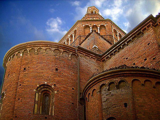 12th century church of San Teodoro, Pavia - Italy (photo by klausbergheimer, via Flickr