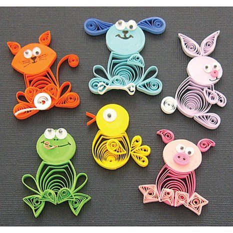quilling creations | Shop Crafts & Sewing Quilling Quilled Creations Quilling Kit - Animal ...