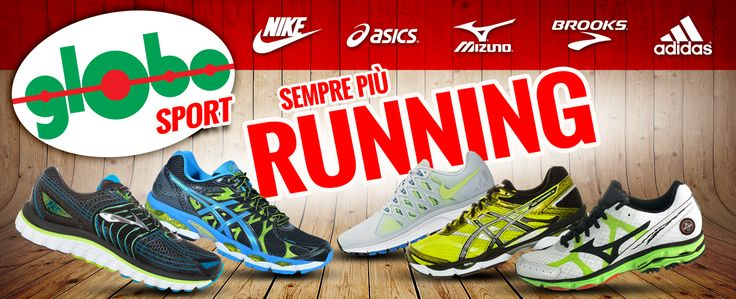 Sempre più #running, sempre più #GLOBOSPORT!!